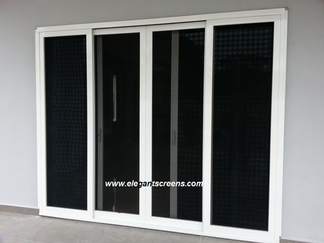 Replace your grille to an 'Elegant' look Security Screens