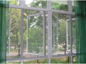 Monarch Entry window/door Pleated mesh Screen
