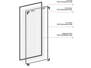 Magnetic Insect Screen