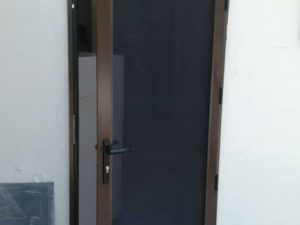 Master Security Single/Double Panel Hinged Door