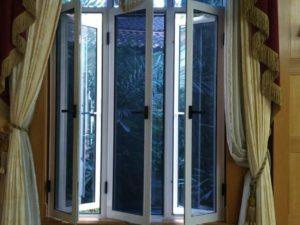 Master Security Screen Hinged Window