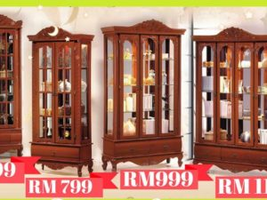 Wood cabinet in Natural color