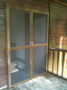 Stainless steel mesh Insect Screen Door